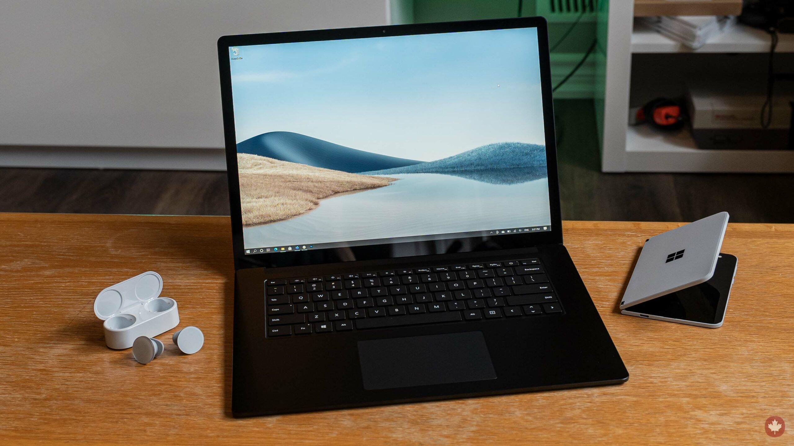 đánh giá Surface Laptop 4